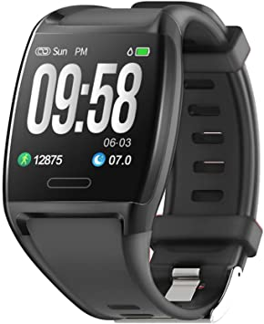 HalfSun Fitness Tracker, Activity Tracker Fitness Watch with Heart Rate Monitor, Blood Pressure Monitor, IP67 Waterproof Smart Watch with Sleep ...