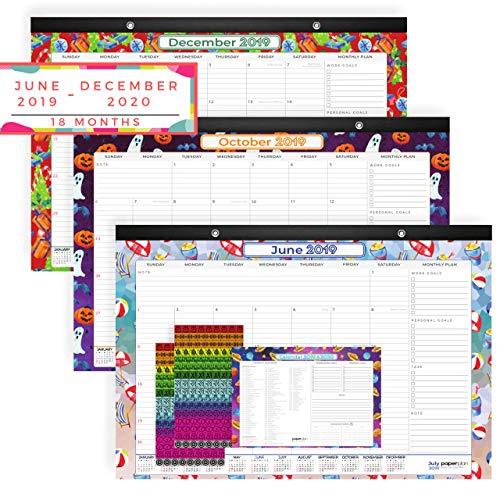 Paperplan 2019-2020 Desk Calendar 17