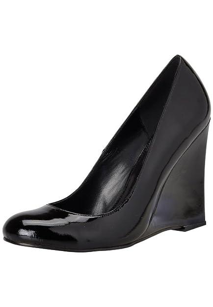 96d7f5aeb7f APART Fashion Women s Lackpumps Court Shoes Black Black  Amazon.co ...