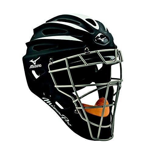 Mizuno Pro Catcher's Helmet G2,7 1/2 Inch - 7 1/8 Inch, Black