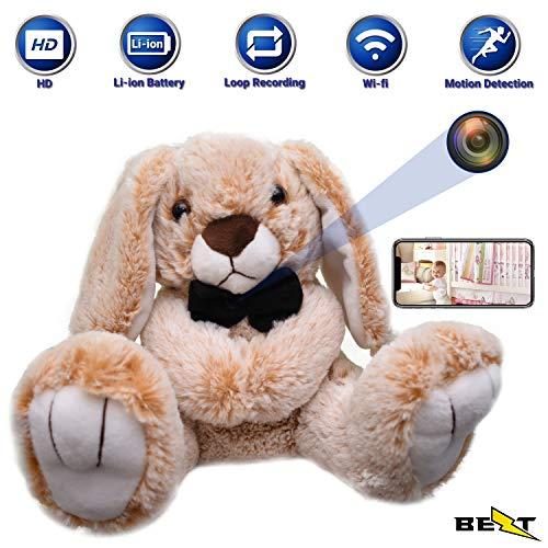 Hidden Spy Nanny Camera Wi-fi – Plush Toy with Hidden cam Surveillance Wireless Indoor Security Mummy's Buddy