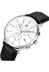 AIBI Mens Chronograph Spotrt Analog Waterproof Watch with Stopwatch & Date