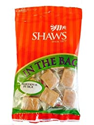 Shaws In The Bag Traditional Fudge Pack Of 5 Bags