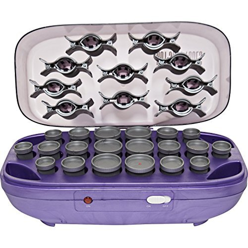 Hot Shot Tools Hairsetter With 20 Flocked Rollers by Helen Of Troy