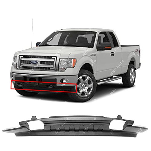 MBI AUTO - Textured, Front Lower Bumper Valance for 2009-2014 Ford F150 W/Out Sport Package 09-14, (Ford F150 Valance Replacement)