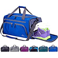 Venture Pal Packable Sports Gym Bag Wet Pocket & Shoes...