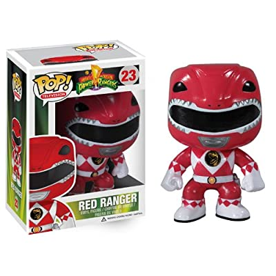 Funko POP Television: Power Rangers Red Vinyl Figure: Toys & Games