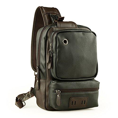 - Sling Backpack Crossbody Bag Shoulder Messenger Bags Chest Pack Daypack for Men