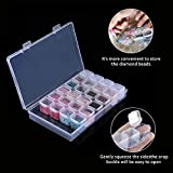 Aozer 28 Grids Diamond Painting Box, Diamond