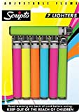 Scripto Lighters, 7 count
