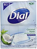 Dial Glycerin Soap, Coconut Water & Bamboo Leaf Extract, 4-Ounce Bars, 8 Count (Pack of 8)