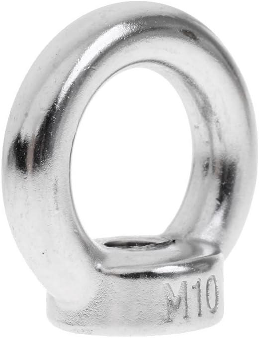 Tuercas de Anilla de Acero Inoxidable 304-6 mm