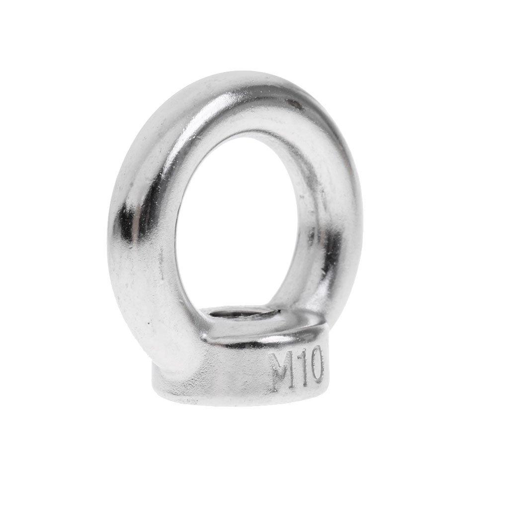 M14 /Ösenmutter Sharplace Edelstahl Augenmutter mit Gewinde Ringmutter