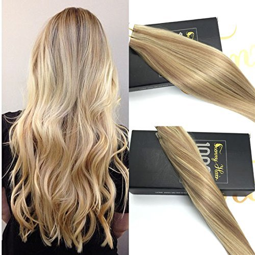 Reviewmetacom Sunny Echthaar Extensions Tape In 16 Zoll40cm Two