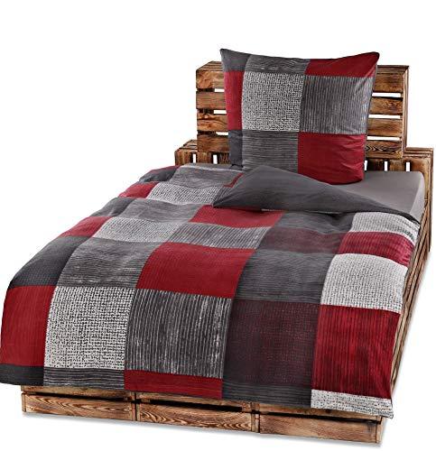 Protex 4 Teilige Winter Bettwasche Set Fleece Flausch Mikrofaser