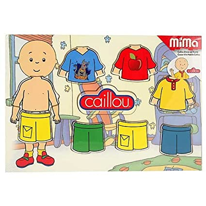 Caillou Dress-Up Wood Puzzle