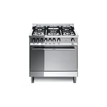 Lofra MG86MF/C Cucina a Gas, Acciaio: Amazon.it: Casa e cucina