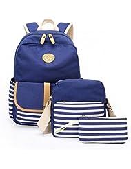 Boys Girl School Bags Set Polka Dot Bookbag School Backpack