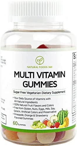 Multivitamins: Natural Foods 360 Multivitamin Gummies