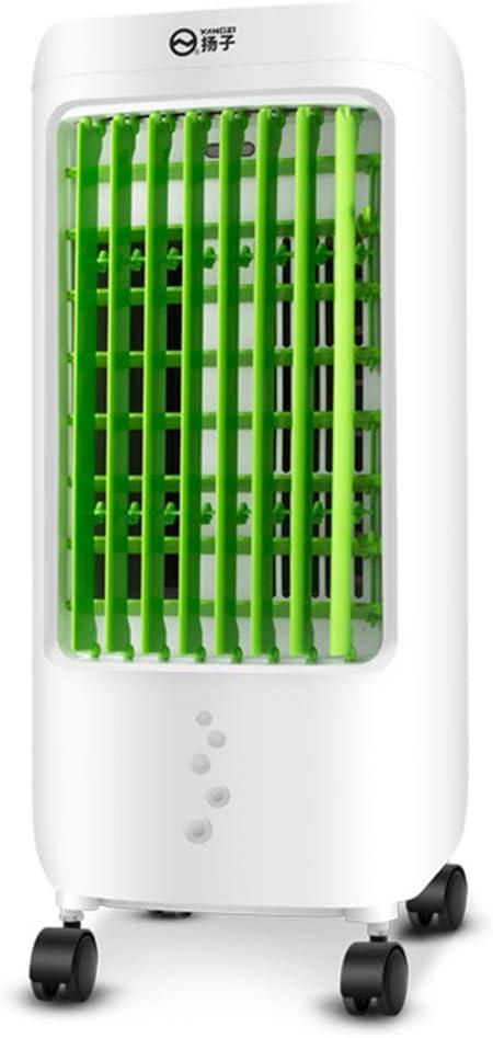 ZHIRONG Ventilador frío - Aire Acondicionado portátil de 3 velocidades Ventilador de Aire Acondicionado portátil Solo frío 65W: Amazon.es: Hogar