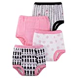 LAMAZE Baby Girls' Organic 4 Pack Training Pants