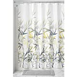 Yellow Shower Curtain InterDesign Anzu Fabric Shower Curtain, 72