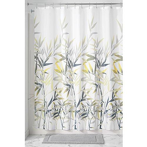 InterDesign Fabric Shower Curtain Yellow