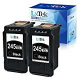 LxTek Remanufactured Ink Cartridge Replacement for Canon PG-245 PG-245XL PG 245 245XL 245 XL PG-243 to use with Pixma MX492 TS3120 MG2420 MG2522 MX490 MG2920 MG2922 MG2520 MG3020 (2 Black-High Yield)