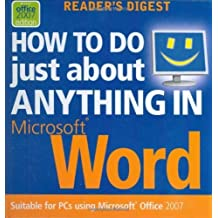 """How to Do Just About Anything in """"Microsoft"""" Word by Boucher, Caroline (2008) Hardcover"""
