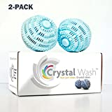 Crystal Wash - Wash Balls - Laundry Detergent Alternative - All Natural (2 pack - $109.99 = $10 Savings)