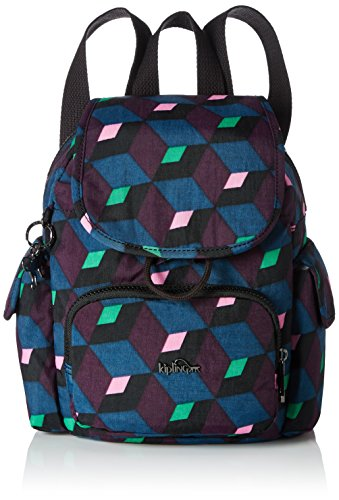 Kipling City Kipling Mirage Backpack Mini Bold Womens Pack Womens Mehrfarbig ORBwqaR