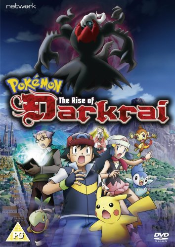 Amazon Com Pokemon The Rise Of Darkrai 2007 Dvd Movies Tv