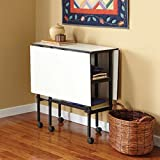 """Sullivans Home Hobby Adjustable Height Foldable Table, 59 x 35.8"""""""