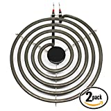 2-Pack Replacement Kenmore/Sears 79094110405 8 inch 5 Turns Surface Burner Element - Compatible Kenmore/Sears 316442301 Heating Element for Range, Stove & Cooktop