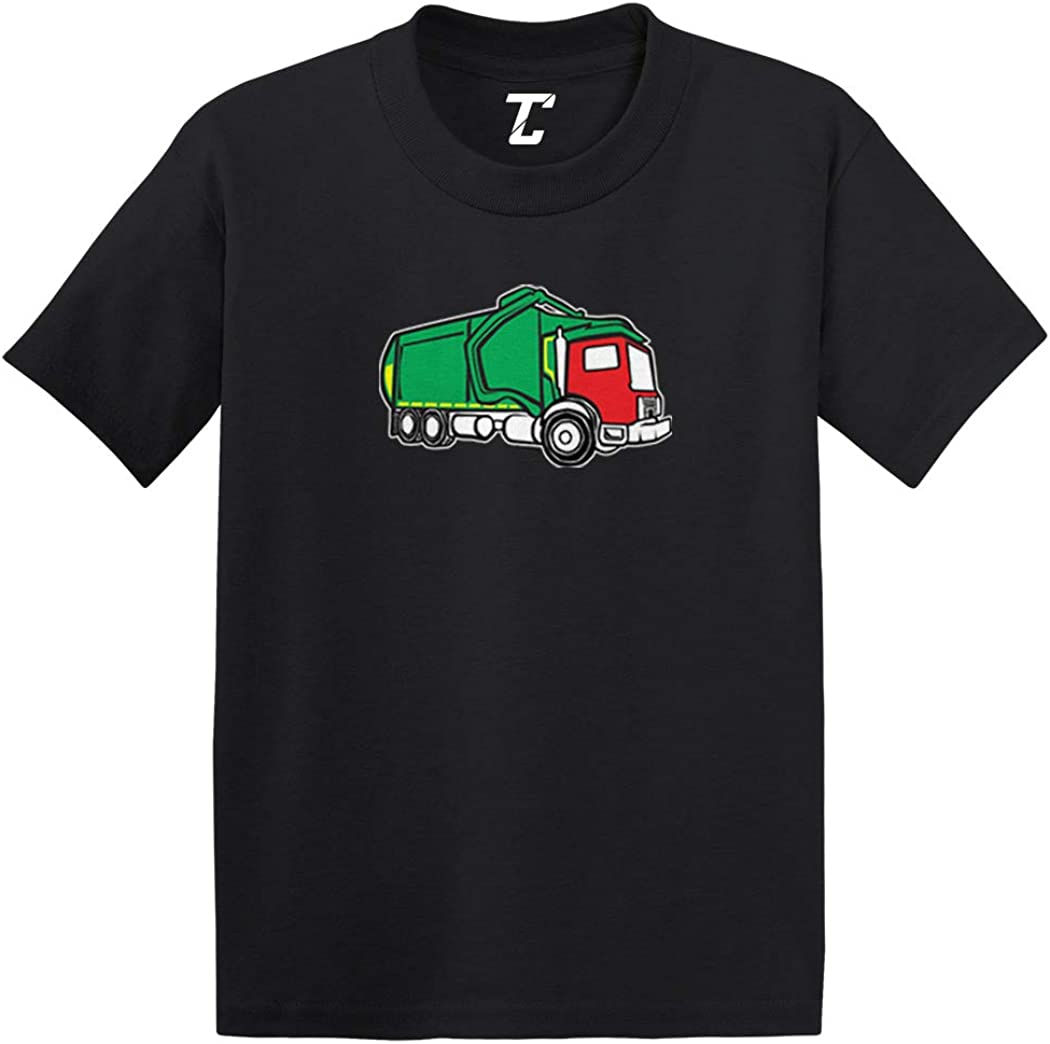 Garbage Truck - Trash Messy Dirty Infant/Toddler Cotton Jersey T-Shirt