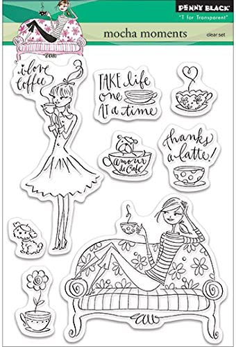 Penny Black 30-097 Hello Gorgeous Clear Stamp
