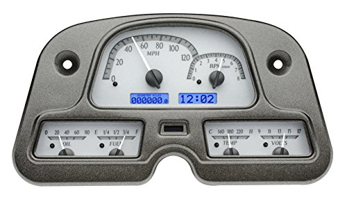 - Dakota Digital 62 - 84 Toyota FJ40 Land Cruiser Analog Gauge Dash Kit Black Alloy Blue VHX-62T-FJ-S-B