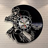 Zelda Movie Vinyl Record Clock Home Design Room Art Decor Handmade Vintage