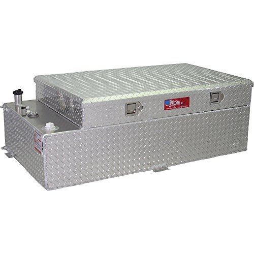 Aux Tank - Rds 71788 Rectangular Auxiliary/Transfer Combo Fuel Tank and Tool - 90 Gallon Capacity