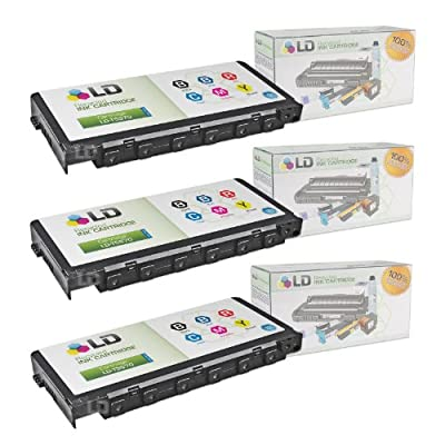 LD Products Remanufactured Ink Cartridge Replacement for Epson T5570 ( Black,Blue,Red,Cyan,Magenta,yellow , 3-Pack)