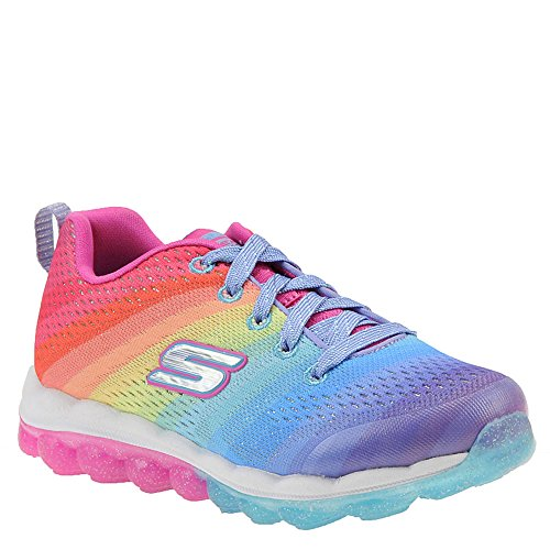 Skechers Kids Girl's Skech-Air 80169L (Little Kid/Big Kid) Multi 6 M US Big Kid by Skechers