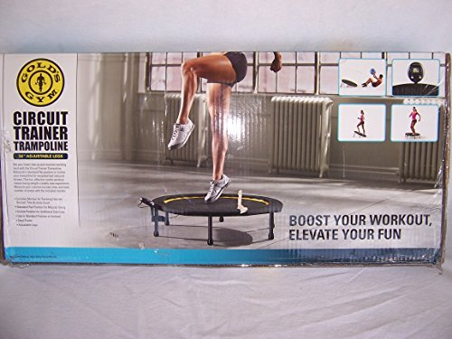 Gold's Gym Circuit Trainer Trampoline -