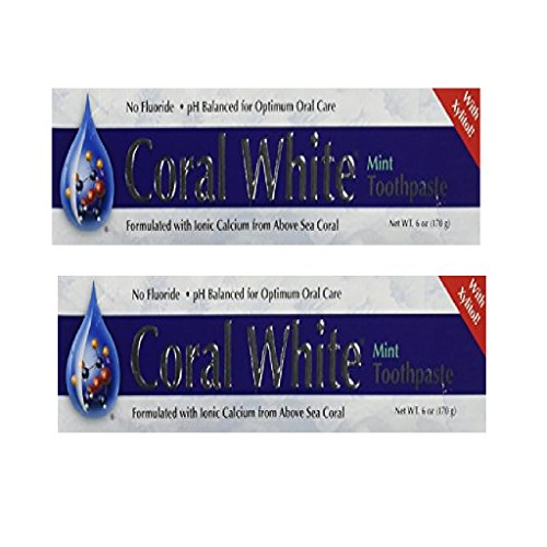 Coral Incorporated - Coral White Mint, 6 oz toothpaste (Pack of (Coral White Toothpaste)