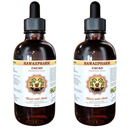 Cacao Liquid Extract, Organic Cacao (Theobroma cacao) Tincture 2x4 (Glycerite Tincture)
