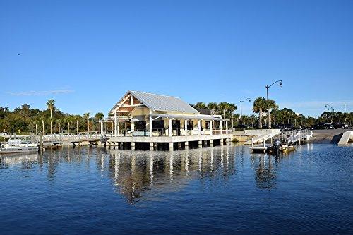 Home Comforts Framed Art for Your Wall Florida Kissimmee Bait Shop Marina Lake Toho 10x13 Frame