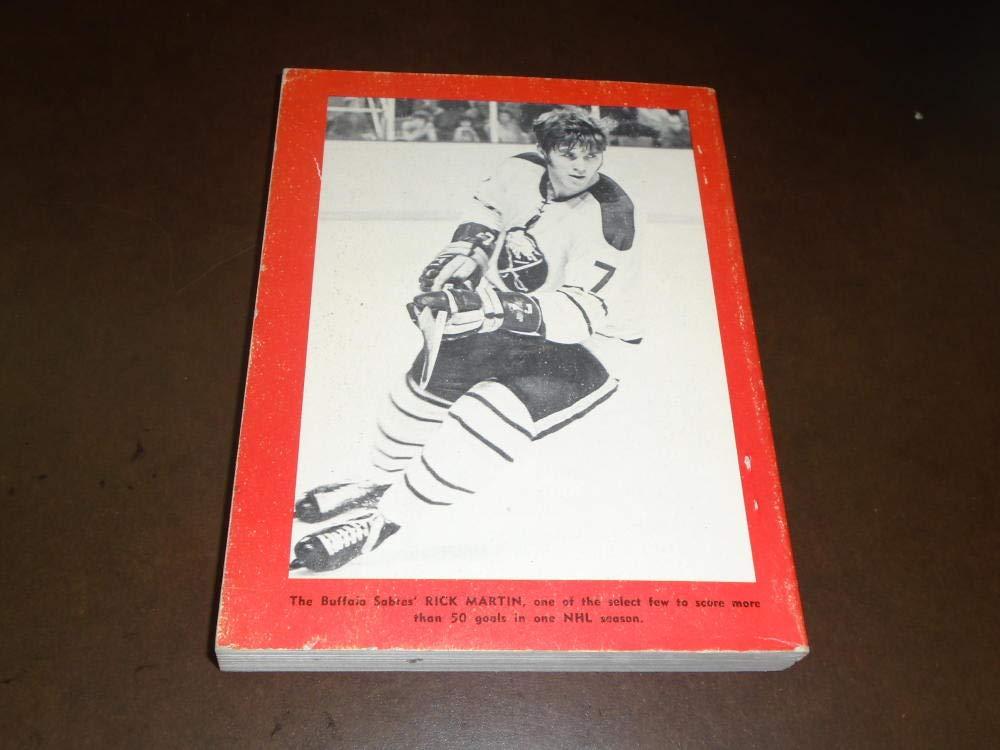 1974 1975 TSN THE SPORTING NEWS NHL HOCKEY LEAGUE GUIDE BERNIE PERENT