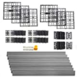 NewTechWood DAF-8-GY 8.64-Square Feet Deck-A-Floor Modular Composite Flooring System Kit, Gray