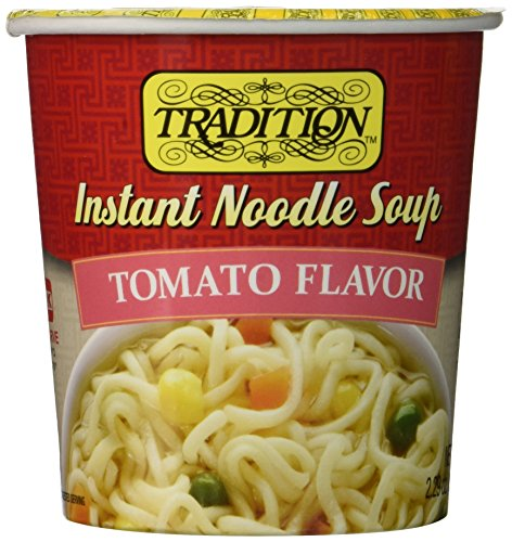 (Tradition Instant Cup Soup, Tomato Flavor, 2.47-Ounce Cups (Pack of 12))