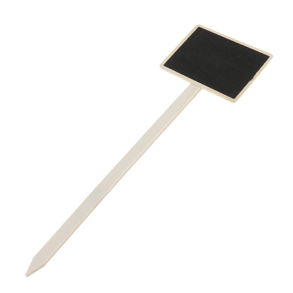 Place Cards Small Blackboard Message Board Weddings Birthday Party Table Numbers Signs 40Pcs Wood Mini Chalkboard Signs with Sticks