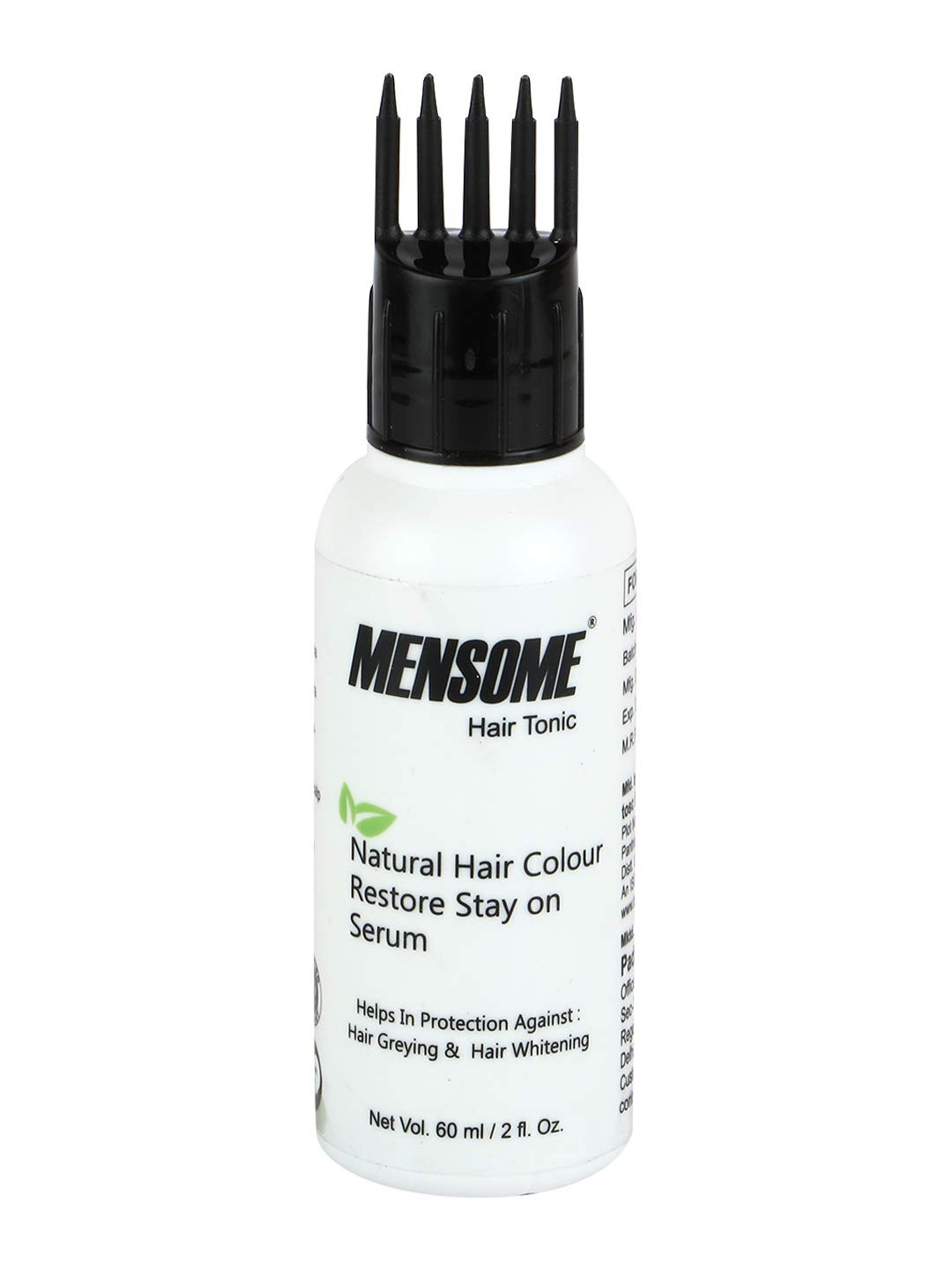 MENSOME Natural Hair Colour Restore Serum Helps in Fighting Hair Greying And Hair Whitening Problem in 60 Ml